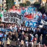 """Inician en Argentina marcha hacia Buenos Aires por """"pan y trabajo"""""""