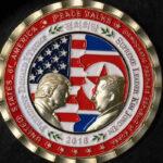 La Casa Blanca desata polémica al acuñar moneda conmemorativa de Trump y Kim (VIDEO)