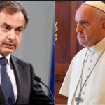 Papa Francisco recibe en privado a Rodríguez Zapatero quien observó elecciones en Venezuela (VIDEO)