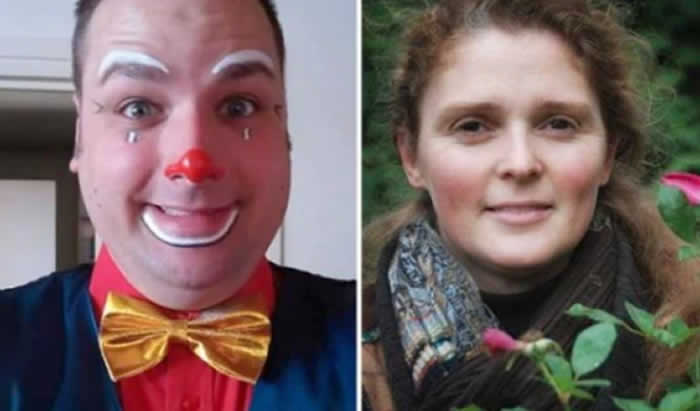 Famoso payaso en Bélgica asesinó a su novia frente a sus hijos