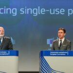 Ofensiva ecologista de la CE contra pajitas, bastoncillos y vasos de plástico