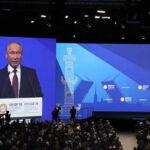 Rusia: Putin denuncia amenaza de ruptura en las bases del comercio mundial (VIDEO)