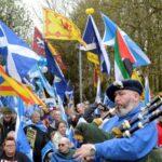 Miles de personas piden en Escocia un segundo referéndum de independencia