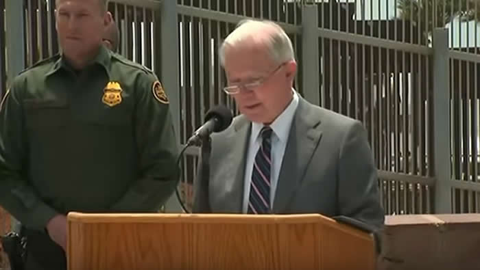 Anuncian que tratarán como delincuentes a quienes crucen ilegalmente