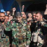 Miles de hombres se unen al ejército sirio tras la salida de rebeldes de Guta