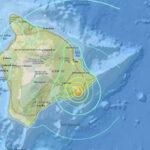 Hawaii: Terremoto de 6,9 gradossacudió la zona donde está en erupción el volcán Kilauea