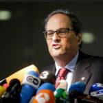 """Cataluña: Presidente Torra lamenta el """"bloqueo institucional"""" de gobierno español contra sus consejeros"""