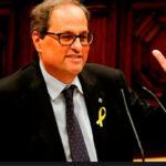 Presidente catalán Quim Torra demanda quese publique este lunes el nombramiento de consejeros