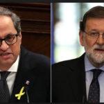 España: Presidente catalán Quim Torra denuncia a Rajoy y Santamaría por prevaricato (VIDEO)