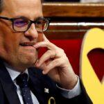 Candidato a presidente catalán reivindica a Puigdemont y promete república