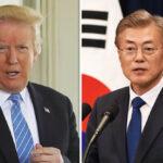 Trump recibirá al presidente surcoreano el22 para evaluar próxima cumbre con Kim Jong-un