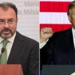 Canciller de México: Declaración de Trump sobre inmigrantes deportados es una invitación al odio (VIDEO)