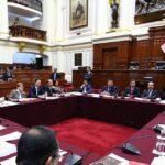 Comisión Permanente del Congreso sesionará este martes