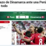 Rusia 2018: Prensa internacional coincide en que Perú debió ganar a Dinamarca
