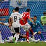 Rusia gana 3-1 a Egipto y es el 1er. clasificado para los octavos de final