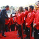 Presidente Vizcarra destaca el logro de 92 medallas en los Juegos Odesur