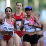 Cochabamba 2018: Inés Melchor y Gladys Tejeda ganan oro y plata en 10 mil metros