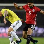 Mundial 2018: Colombia y Egipto en partido preparatorio empatan 0-0