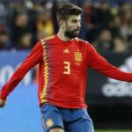 Mundial Rusia 2018: Piqué alcanza 100 partidos con la selección española