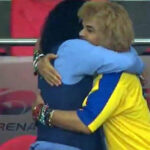 Rusia 2018: El abrazo más emotivo entre Higuita y Valderrama (Video)