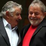 """Brasil: Lula da Silva recibe la visita de su amigo José """"Pepe"""" Mujica"""