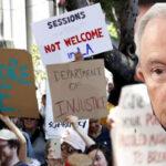 EEUU: Activistas rechazan presencia del fiscal Jeff Sessions por su dura política migratoria (VIDEO)