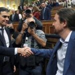 Socialista Pedro Sánchez elegido nuevo presidente del Gobierno español