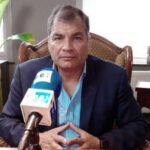 Expresidente Correa estudia pedir asilo en Bélgica si se ve obligado a volver a su país