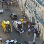 Rusia: Taxi subió a la vereda y atropelló a 8 hinchas al lado de  la Plaza Roja (VIDEO)
