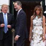 EEUU: Trump y la Primera Dama recibieron a los reyes de España en la Casa Blanca (VIDEO)