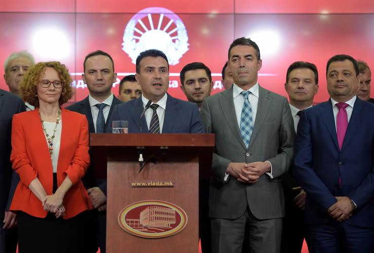 Macedonia cambia de nombre tras acuerdo con Grecia
