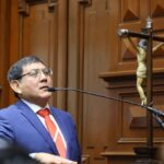 Congresistas accesitarios asumen sus cargos tras prestar juramento