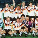 Mundial Italia 1990: Drogan jugador durante encuentro Brasil-Argentina