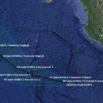 Con vientos huracanados se formó latormenta tropical Aletta en el Océano Pacífico