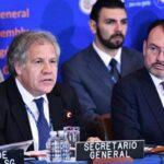 Almagro: El futuro de Nicaragua debe decidirlo el pueblo y no una elite