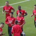 Selección peruana entrenó en Moscú antes de viajar a Ekaterimburgo (VIDEOS)