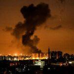 Israel bombardea puestos militares de Hamás en el sur Gaza