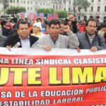 Ministerio de Educación declara ilegal la huelga de profesores