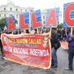 Lima: Maestros en huelga marcharon por el Centro de Lima (FOTOS)