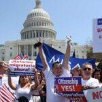 Miles de personas exigen en Washington reunir a las familias de inmigrantes