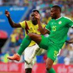 Colombia clasificada como primera al ganar 1 a 0 a Senegal