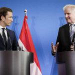 Anuncian Eje de Italia, Austria y Alemania para rechazar con dureza la inmigración ilegal