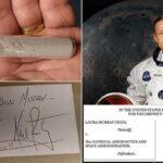 Demandan a la NASA por una muestra de polvo lunar regalada por Neil Armstrong