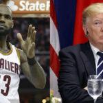 James Le Bron a Trump: No importa quien gane, nadie quiere ir a la Casa Blanca (VIDEO)
