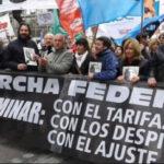 Argentina: Protestas en Plaza Mayo contra el FMI y veto de Macri a la baja de tarifas (VIDEO)