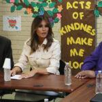 EEUU:Melania Trump visitó centro de detención de niños inmigrantes en Texas (VIDEO)