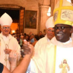 El primer obispo afrocubano Silvano Pedroso Montalvo toma posesión de su cargo