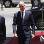 El príncipe Guillermo inicia su visita en Palestina y se reúne con Abás