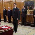 El nuevo Presidente de Gobierno de España promete su cargo ante el rey