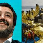 Italia: Salvini redobla desafío a UE y cierra puertos a otro barco con 224 migrantes ilegales (VIDEO)